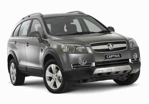 Holden Captiva 60th Anniversary Special Edition