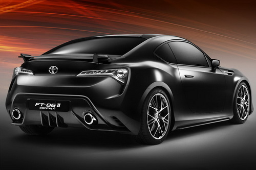 Toyota FT-86 II Concept at 2011 Geneva Motor Show