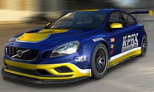 Volvo S60 Race Cars by K-PAX Racing