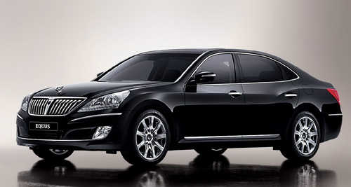 Hyundai Equus Specs for US Market