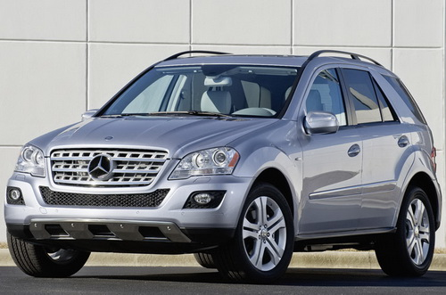 Mercedes ML450 HYBRID Production Version