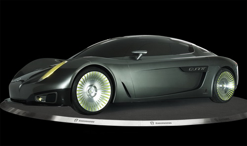 Koenigsegg Quant Solar Electric Car