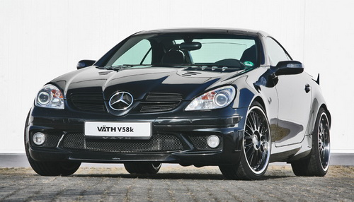 Mercedes SLK 55 AMG Modification by Vath