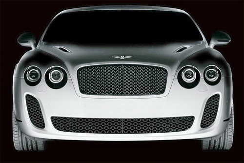 Extreme Bentley for the Next Geneva Motor Show