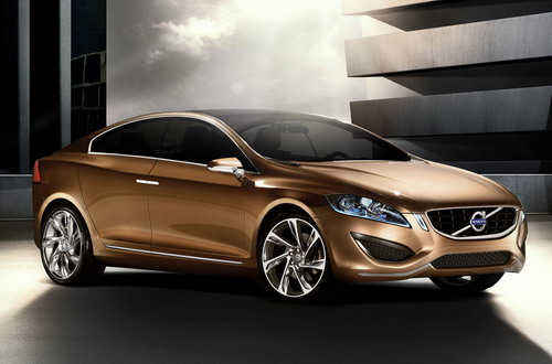 Volvo S60 Concept Car Unveiled