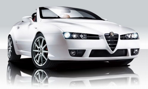 Alfa Romeo Special White Edition Cars
