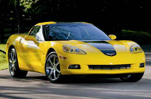Hertz Corvette ZHZ Car