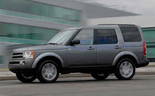 2009 Land Rover LR3 US Version